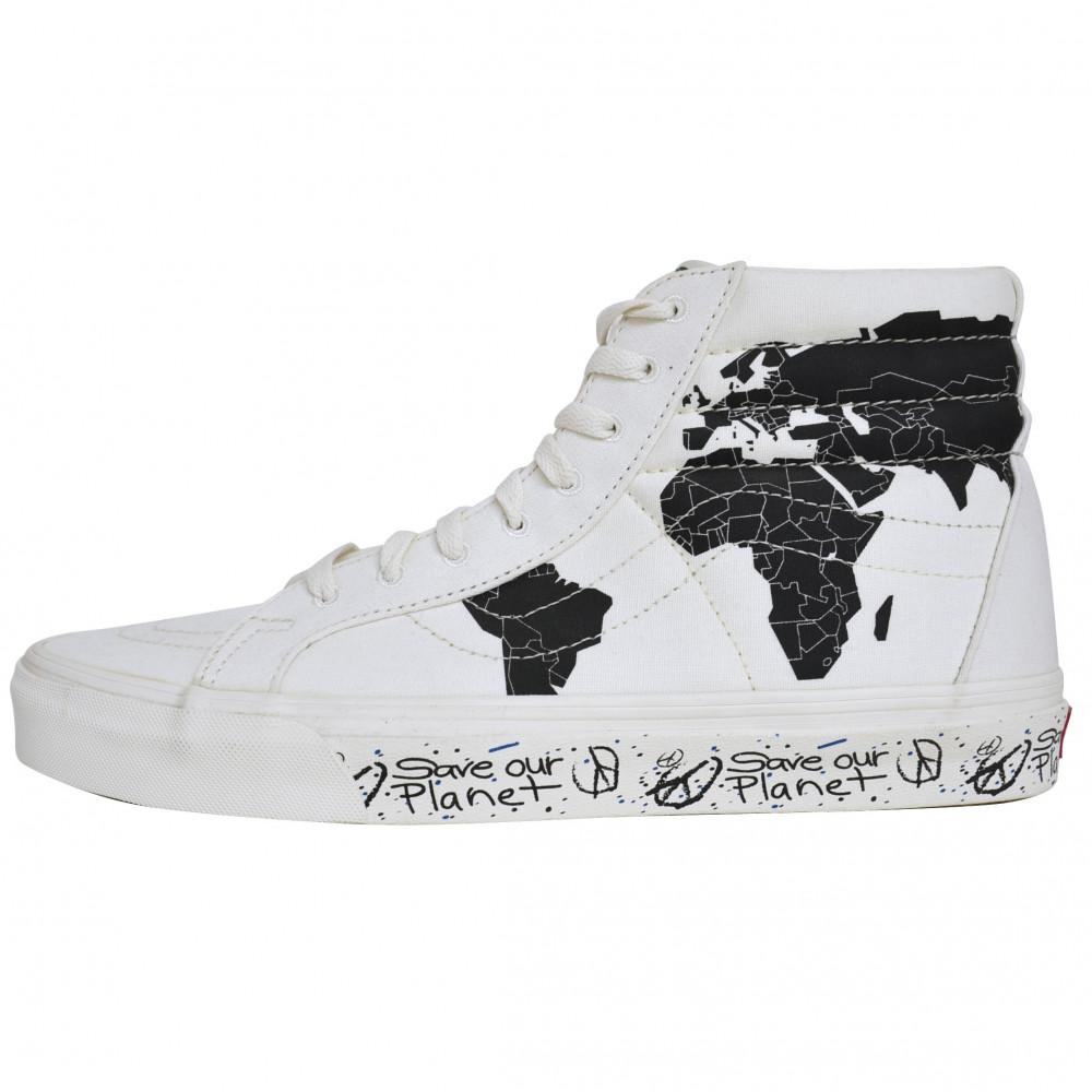 Save Our Planet x Vans Sk8-Hi (White/Black)