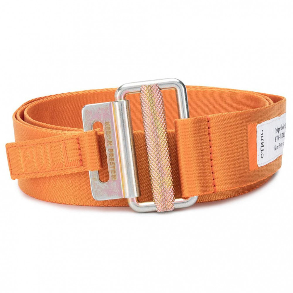 Heron Preston Logo Utility Belt (Orange)