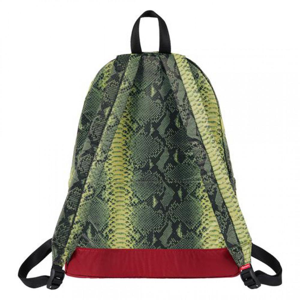 Supreme x TNF Snakeskin Backpack  (Green)