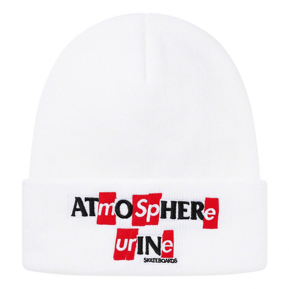 Supreme x ANTIHERO Beanie (White)