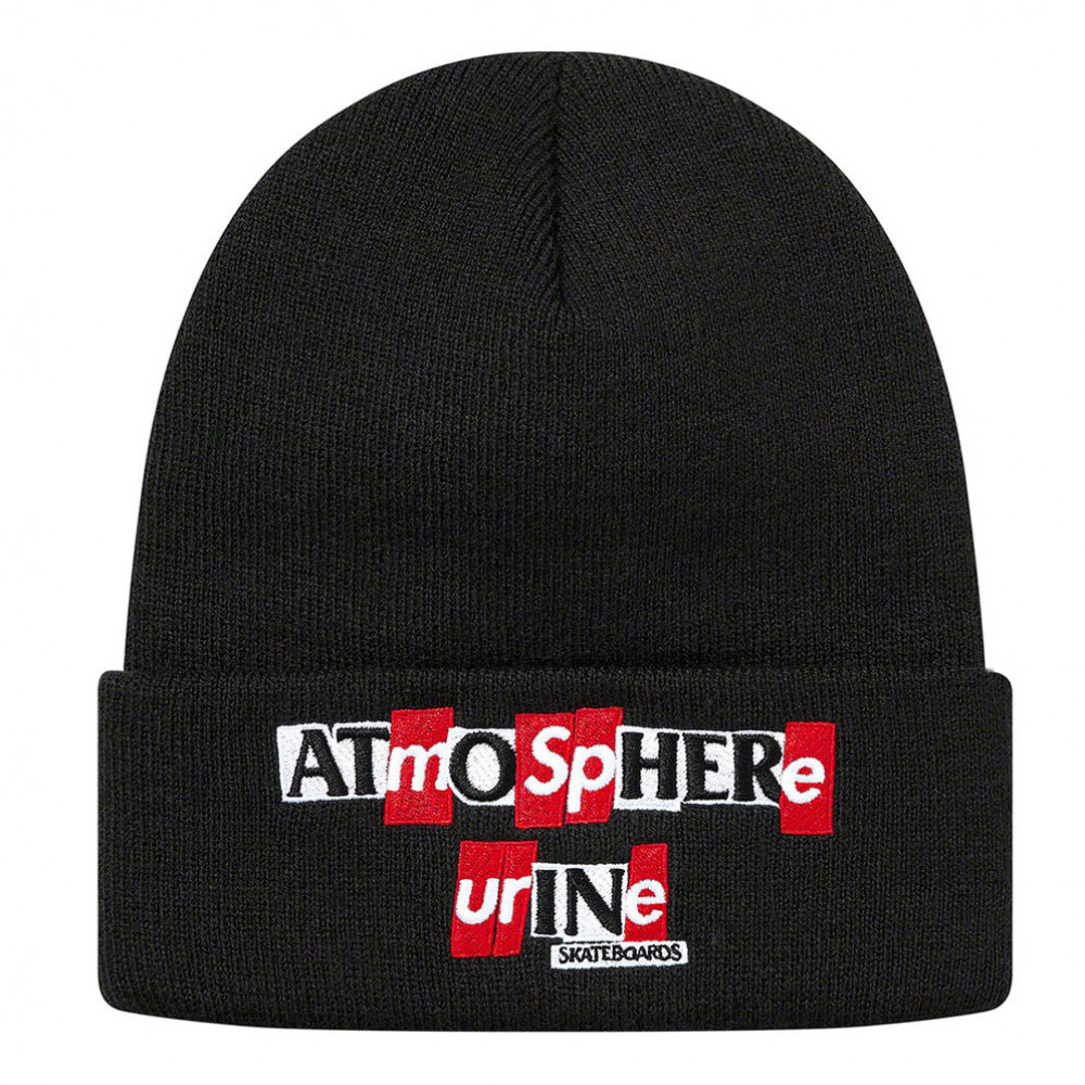 Supreme x ANTIHERO Beanie (Black)