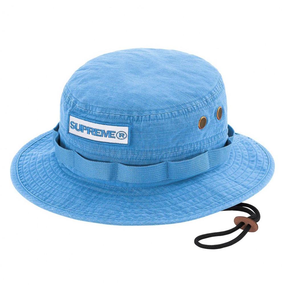 Supreme Reflective Patch Boonie Hat (Bright Blue)