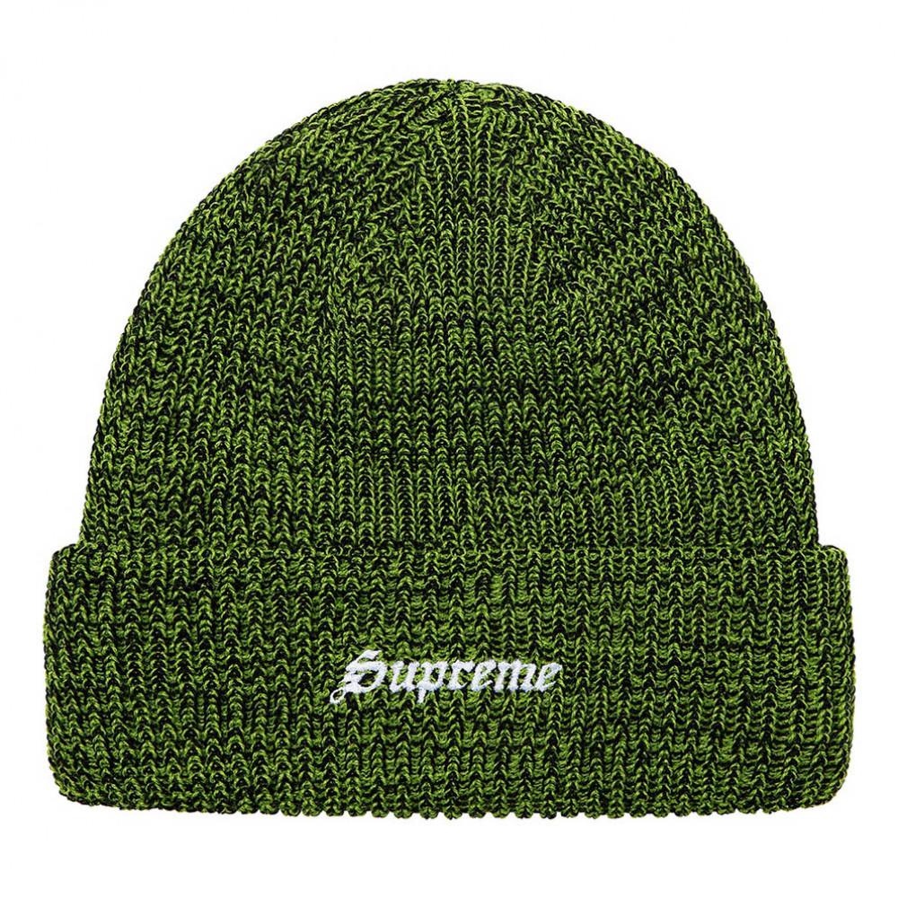 Supreme Twisted Loose Gauge Beanie (Green)