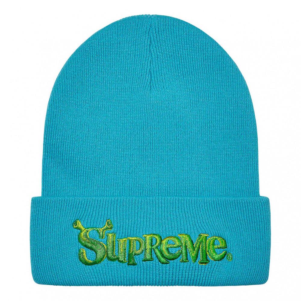 Supreme Shrek Beanie (Turquoise)