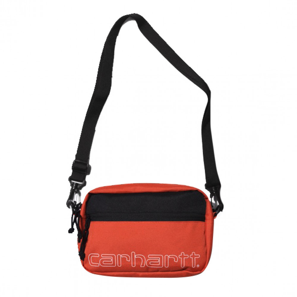 Carhartt WIP Team Script Shoulder Bag (Orange)