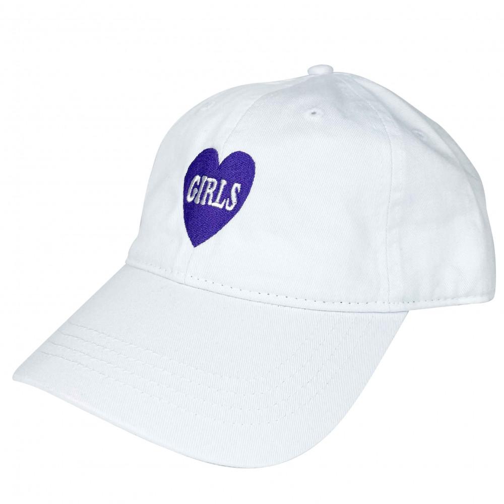 EATPUSSY Girls Dad Cap (White)