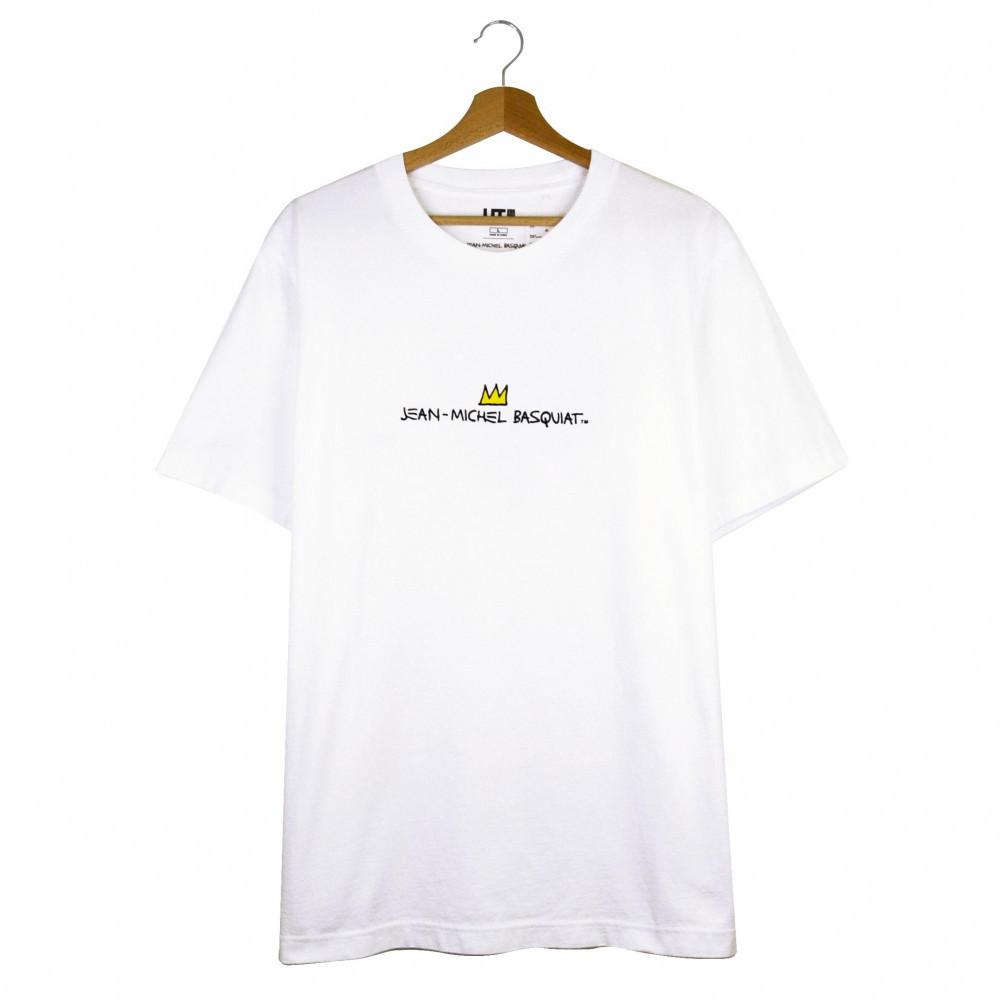 Uniqlo x Jean-Michel Basquiat Crown Tee (White)