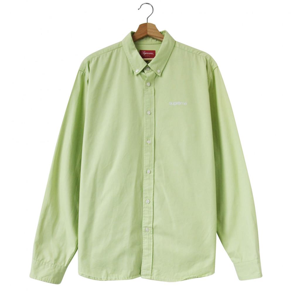 Supreme Oxford Shirt (Lime Green)