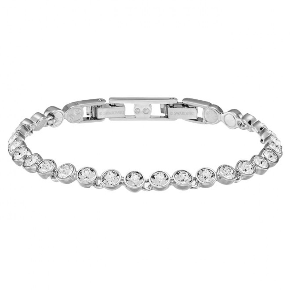 Swarovski Tennis Bracelet (Silver)