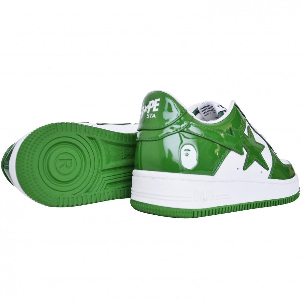 BAPE Bapesta Low (Green)
