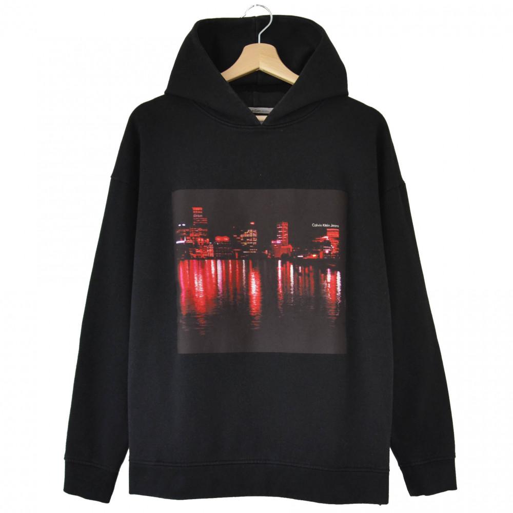 Calvin Klein Hoodie (Black/Red)