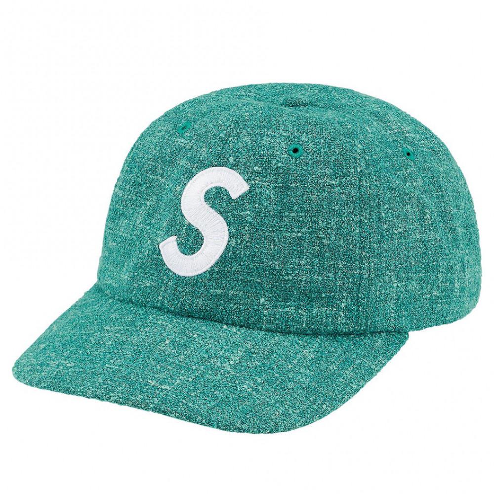 Supreme Terry S Logo 6-Panel Cap (Teal)