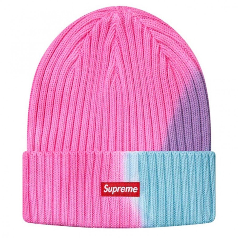 Supreme Overdyed Beanie (Pink)