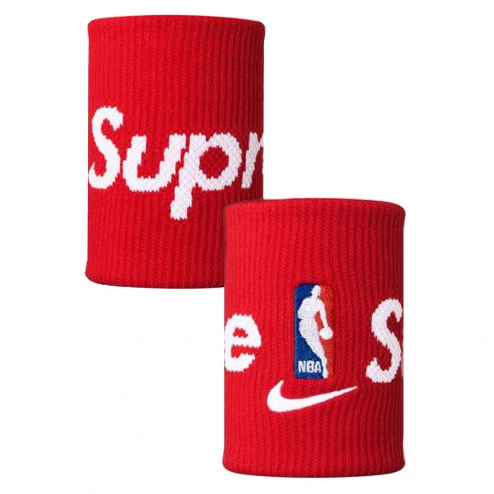 Supreme Nike NBA Wristbands (Red)
