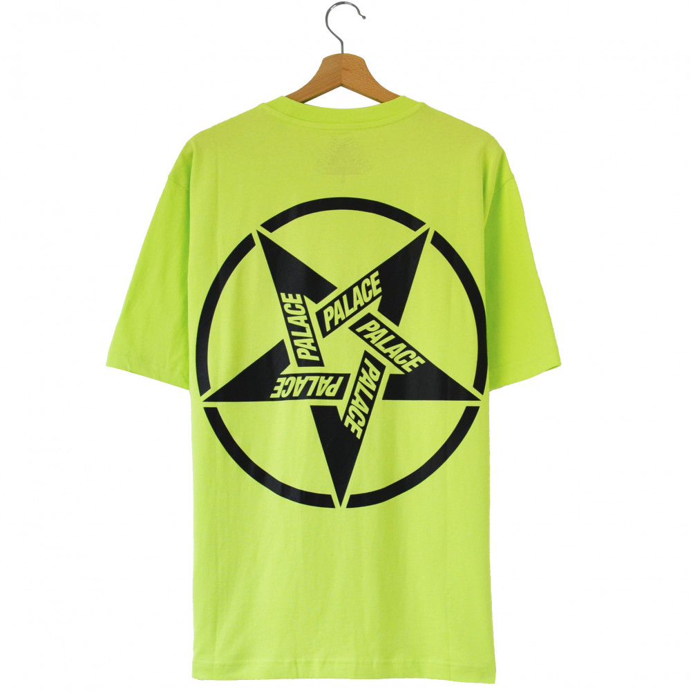 Palace Calm It Mosher Tee (Light Lime)