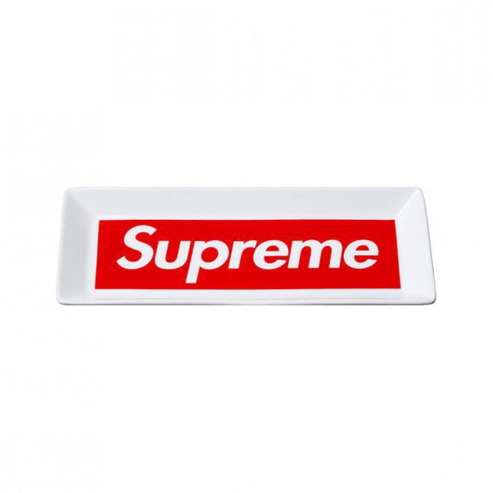 Supreme Box Logo Ashtray (White)