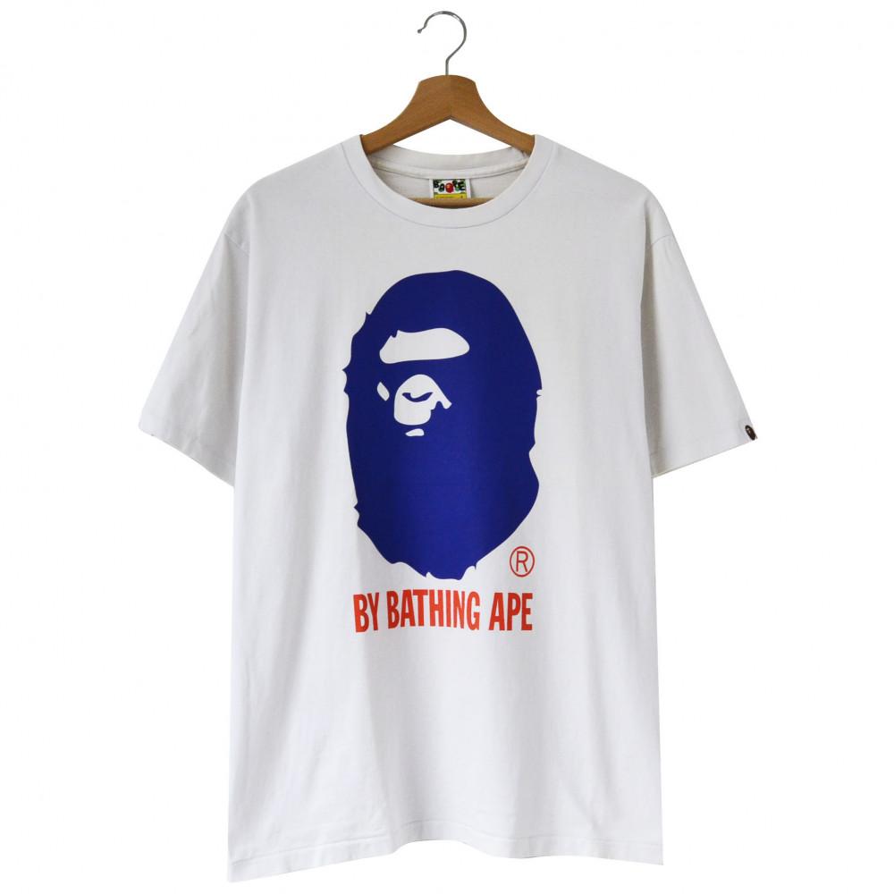 Bape Big Ape Head Tee (White)