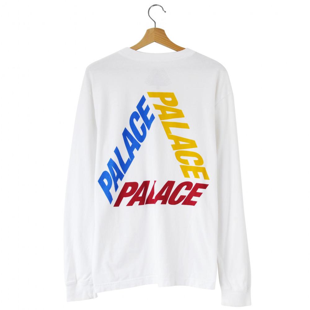Palace Tri-Ferg Longsleeve (White)