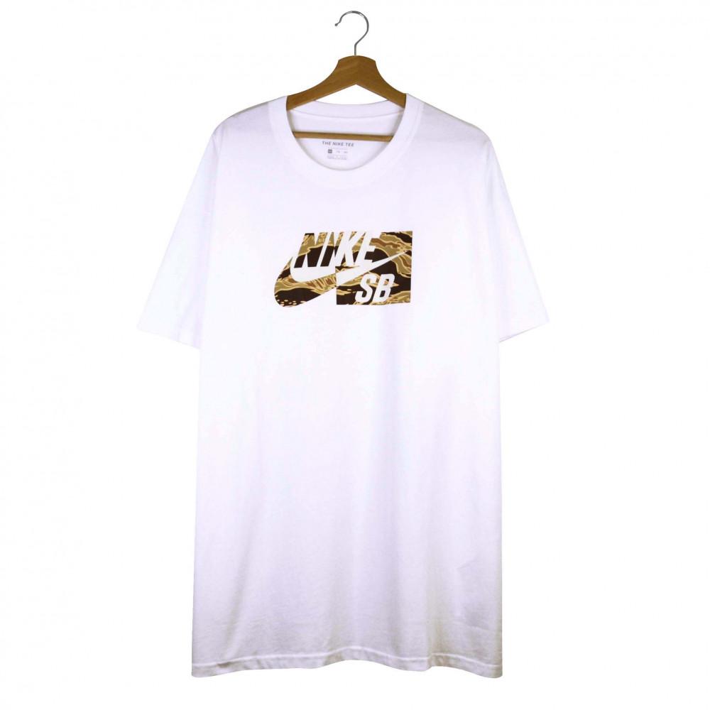 Nike SB HBR Camo Tee (White)