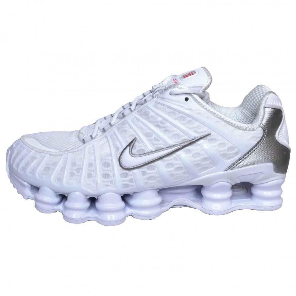 Nike Shox TL (White/Metallic Silver)