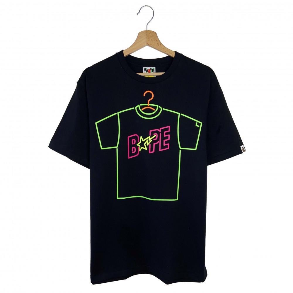 BAPE Neon Sign Tee (Black)