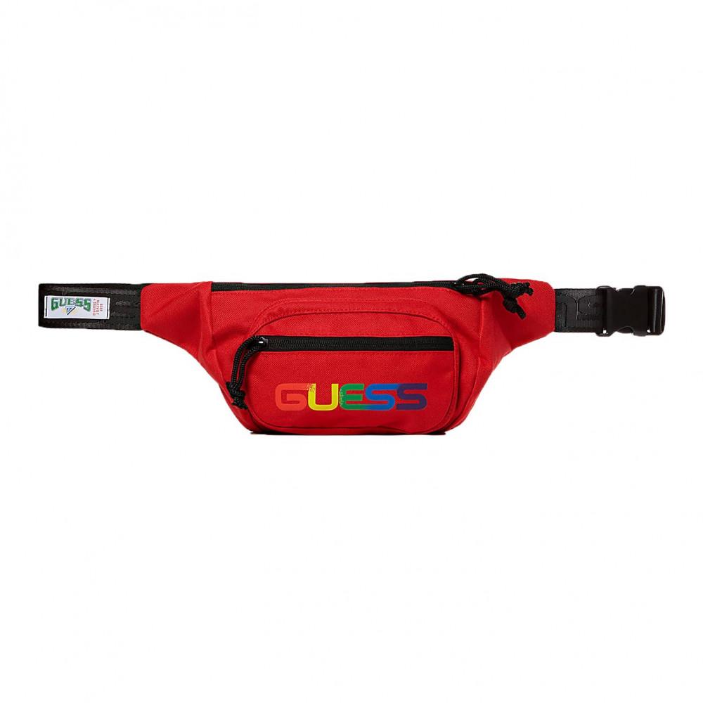 Guess x J Balvin Logo Belt Bag (Red)