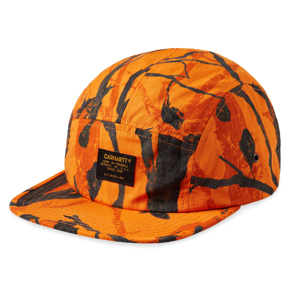Carhartt WIP Ripstop Military Cap (Orange Camo)