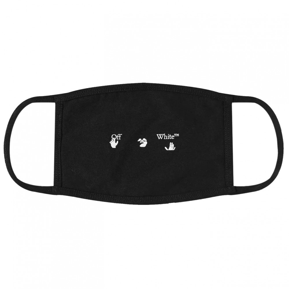 Off-White New Logo Face Mask (Black)