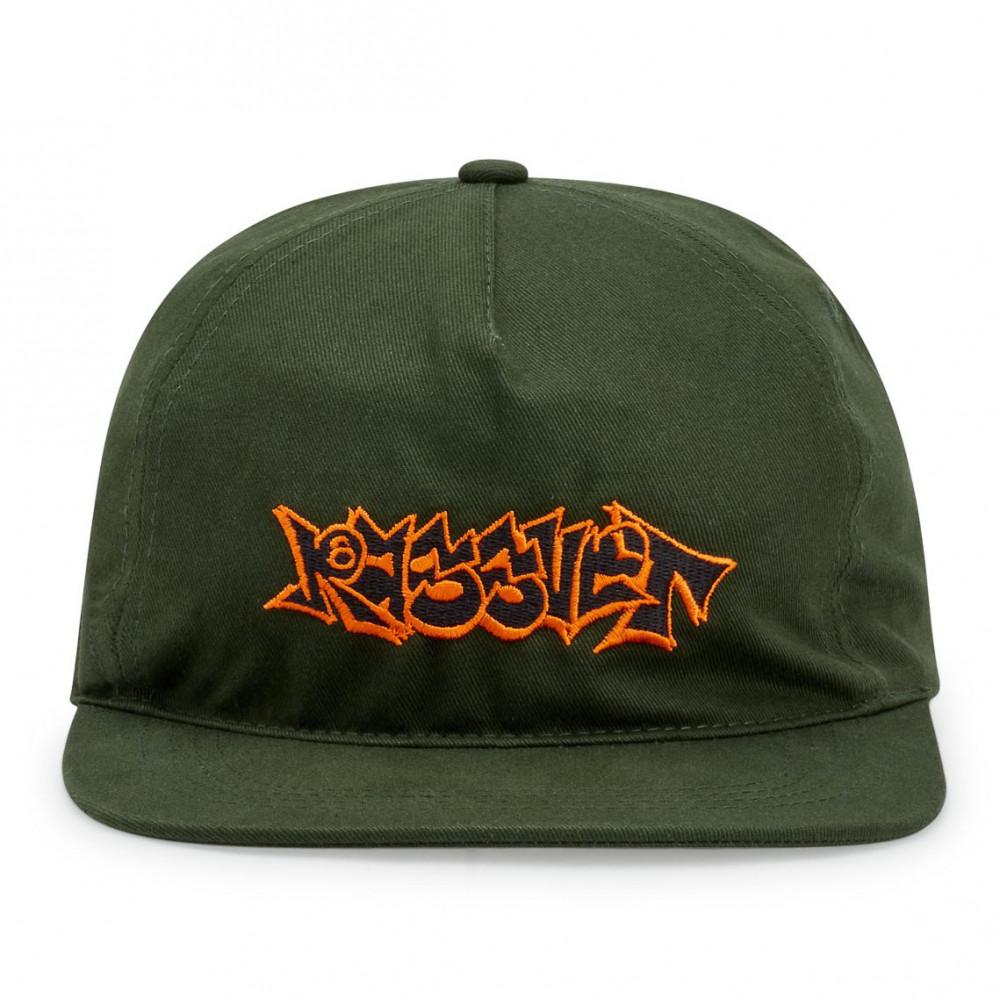 Rassvet Embroidered Logo Cap (Dark Green)