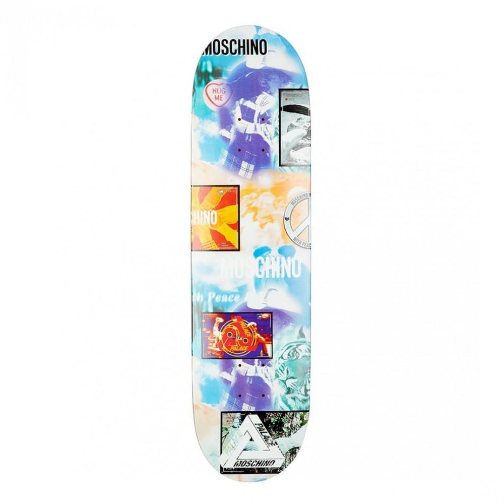Palace x Moschino Skateboard Deck (Hugs)