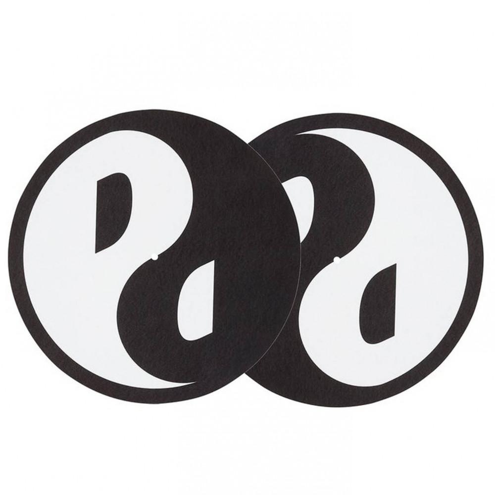 Palace Ying Yang DJ Slip Mats (Black/White)