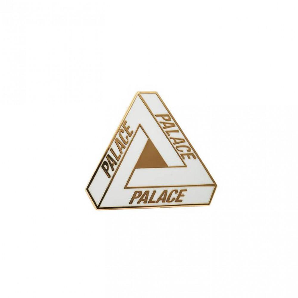 Palace Tri-Ferg Pin (White)