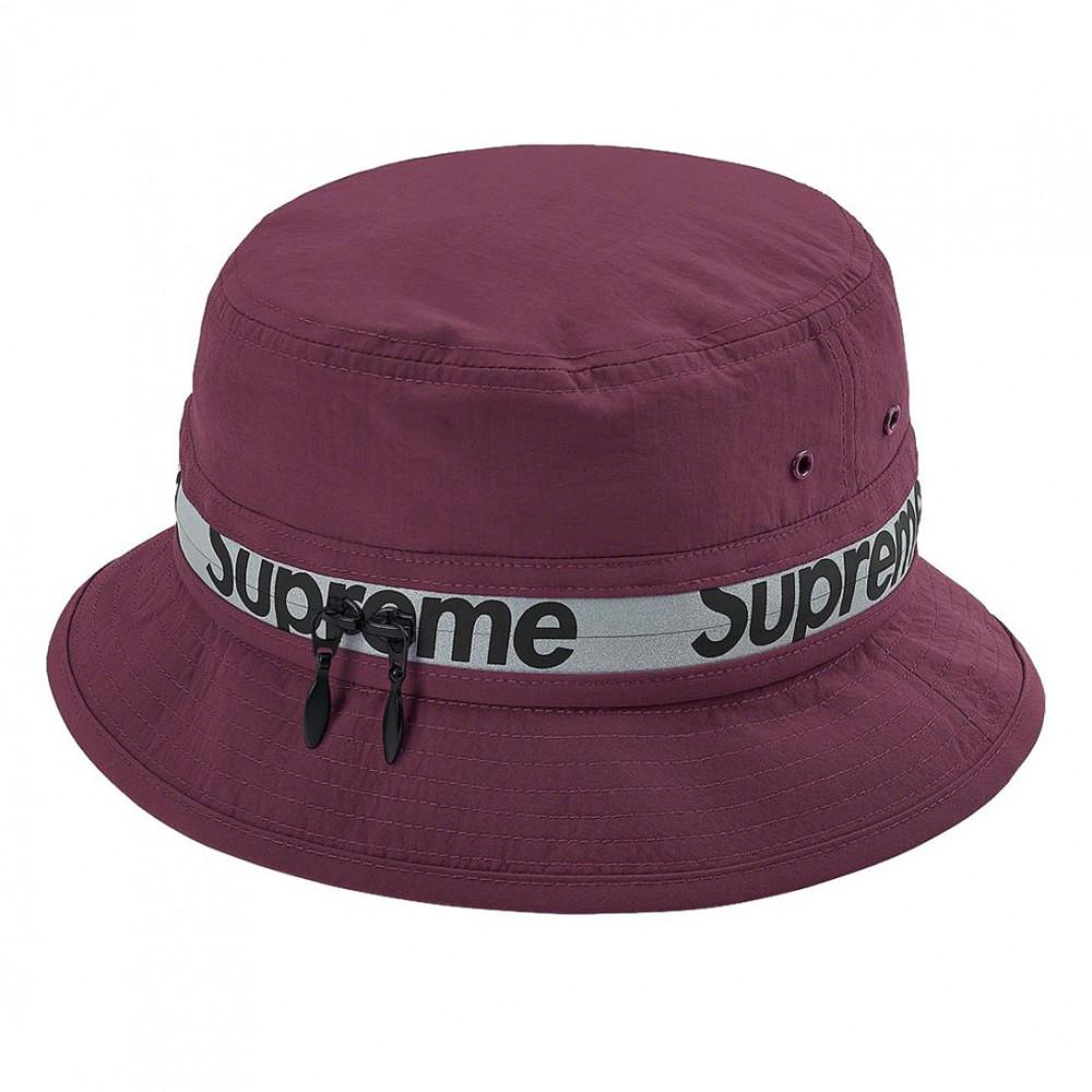 Supreme Reflective Zip Crusher (Purple)