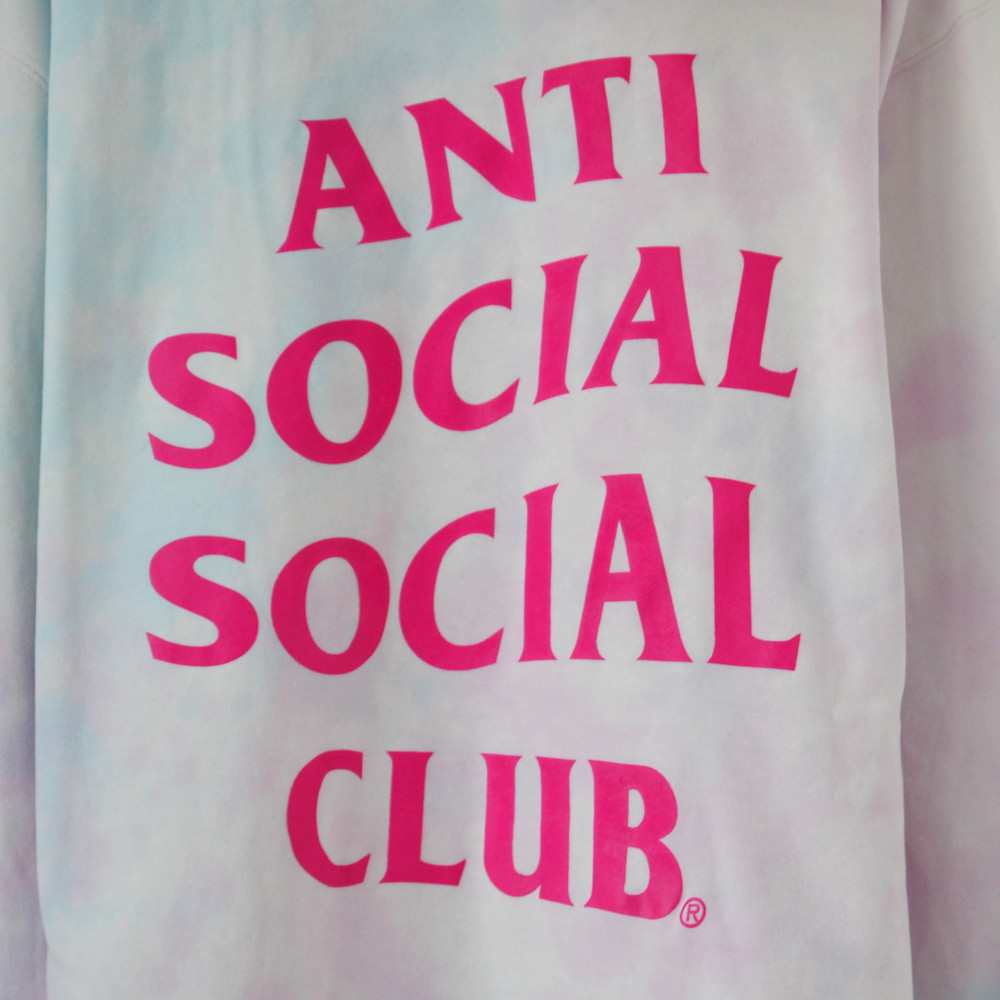 Anti Social Social Club Ice Cream Paint Job Hoodie (Multi)