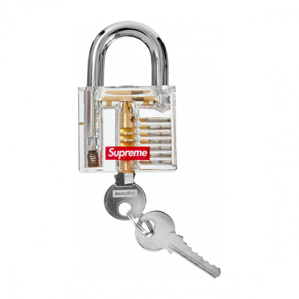 Supreme Transparent Lock (Clear)