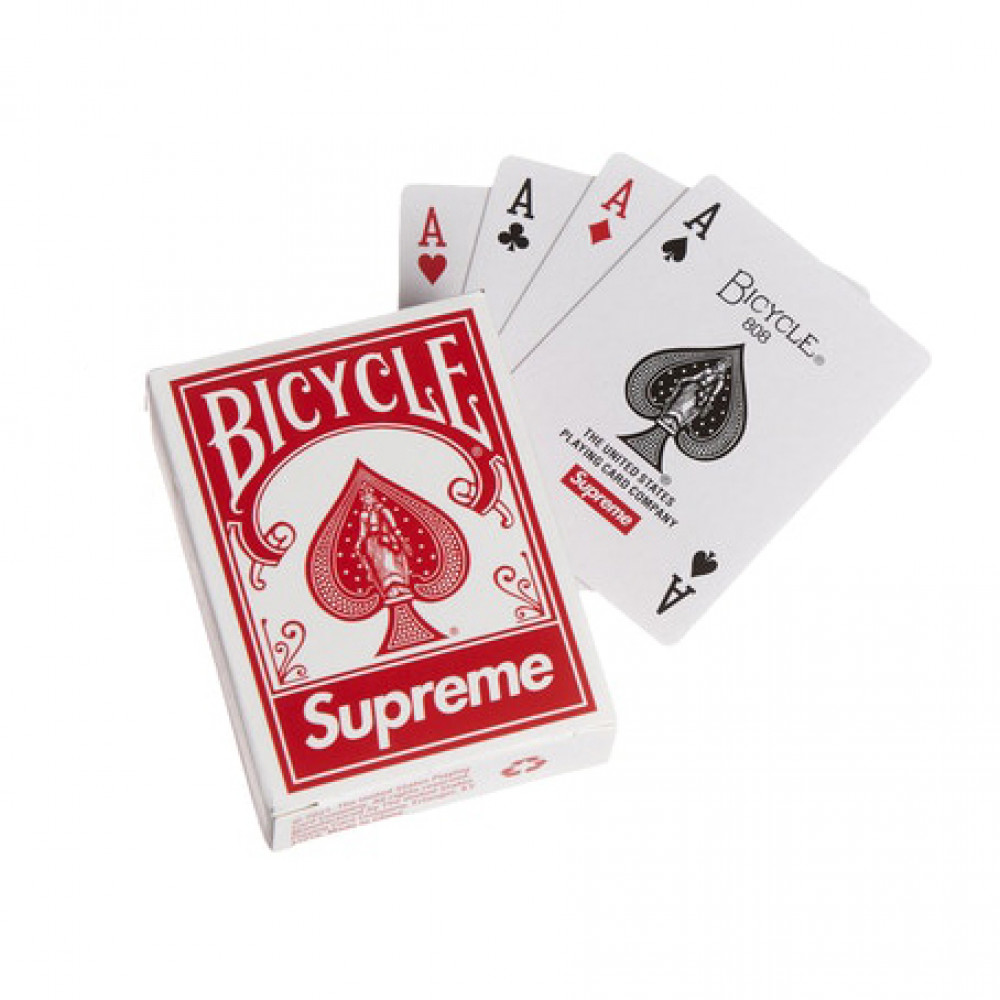 Supreme x Bicycle Mini Playing Cards (Red/White)