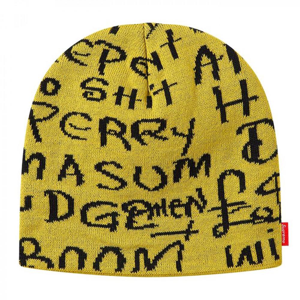Supreme Black Ark Beanie (Yellow)