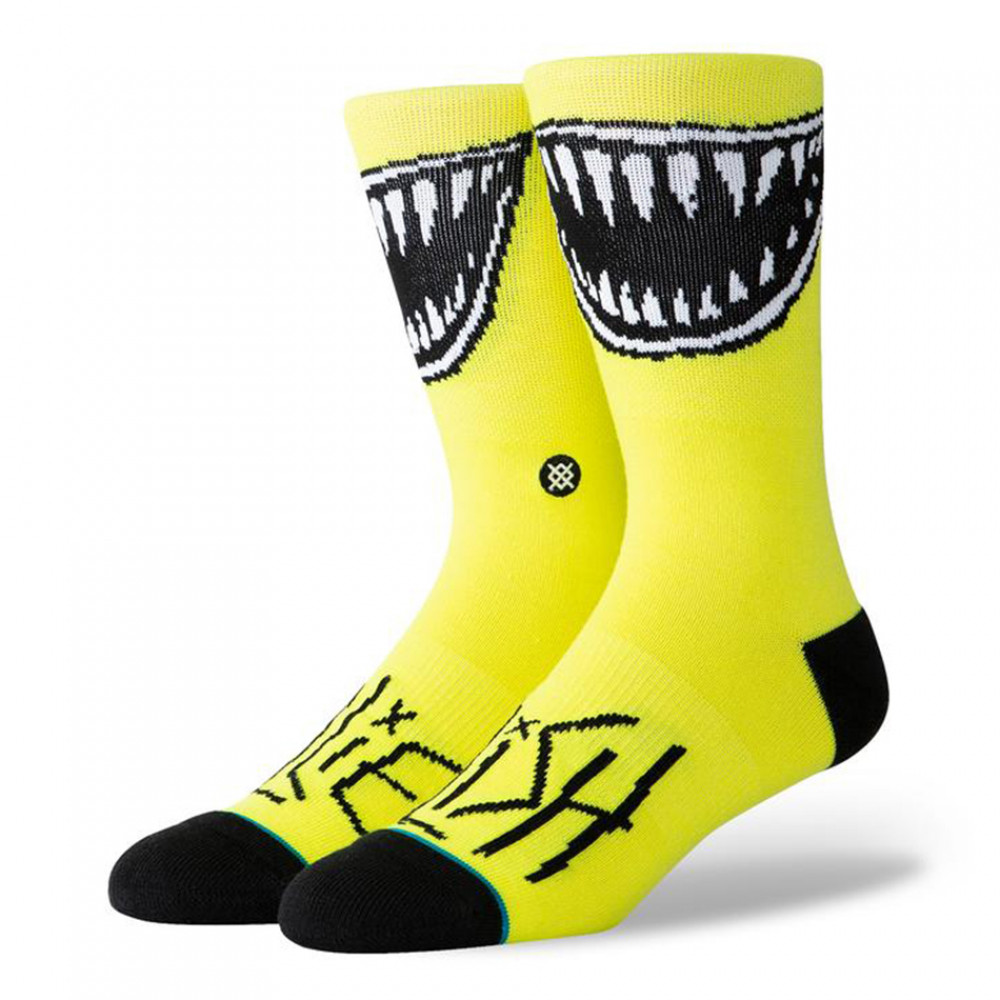 Billie Eilish x Stance Crew Sock (Yellow)