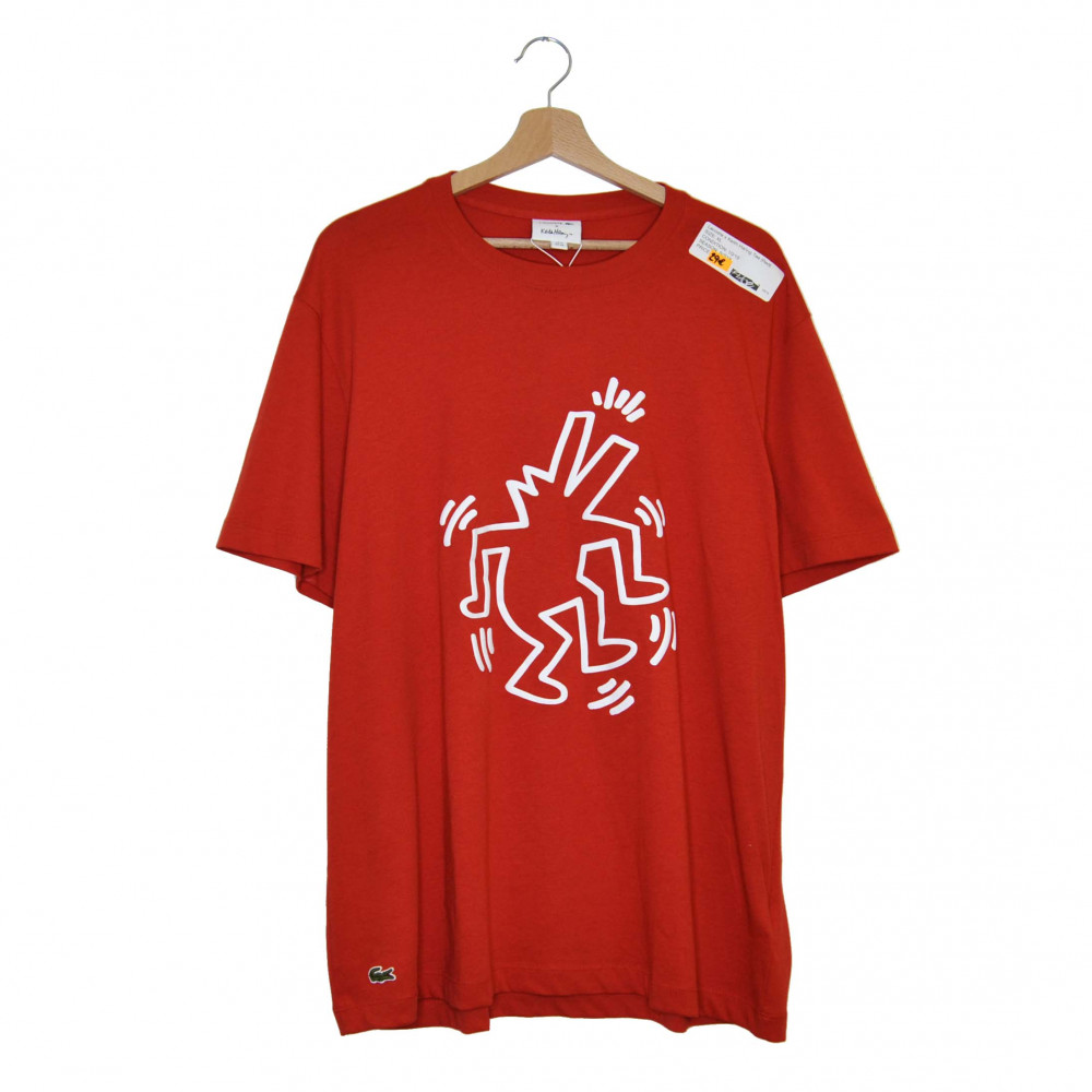 Lacoste x Keith Haring Tee (Red)