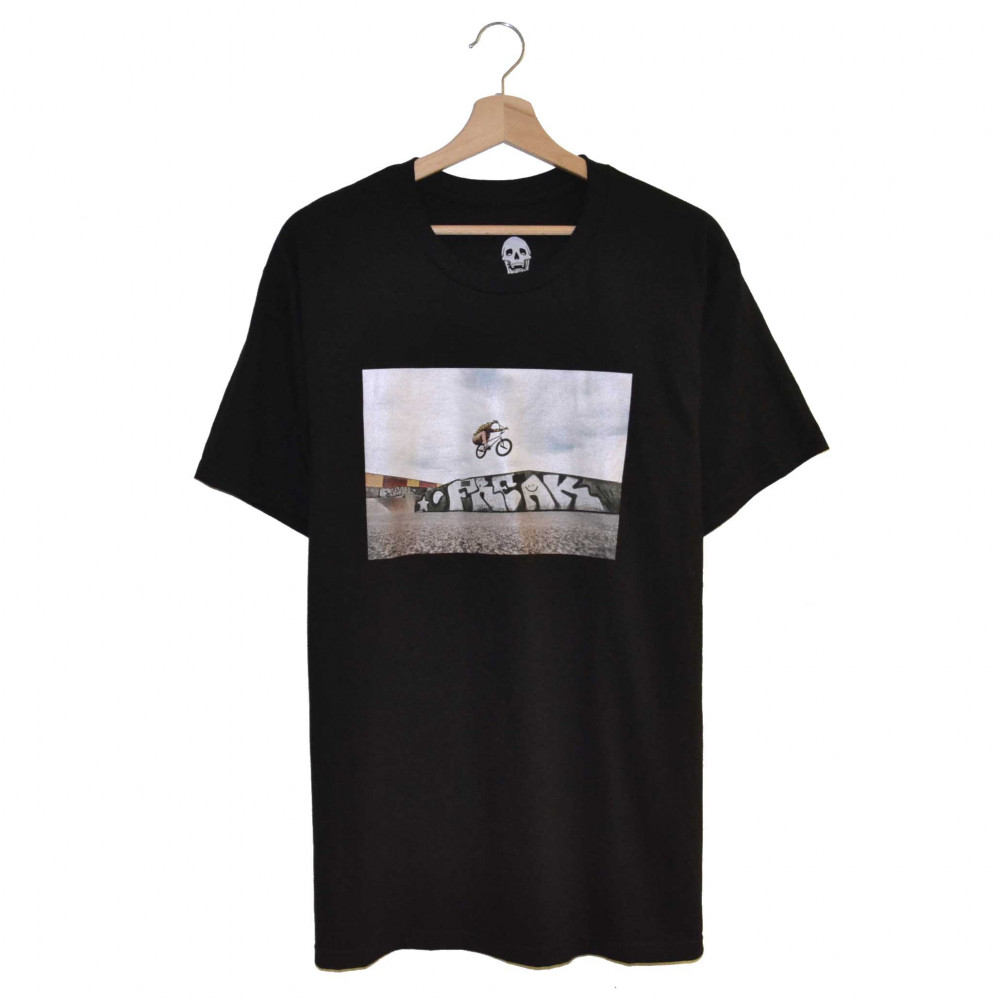 Freak Jumper Tee (Black)