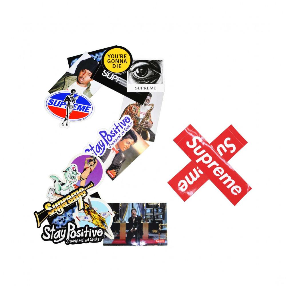 Supreme Mystery Sticker Pack (2x)