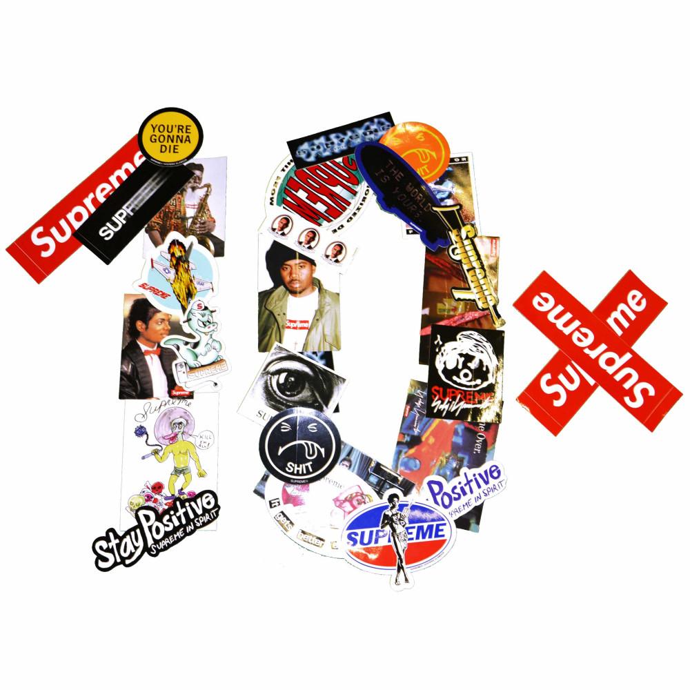 Supreme Mystery Sticker Pack (10x)