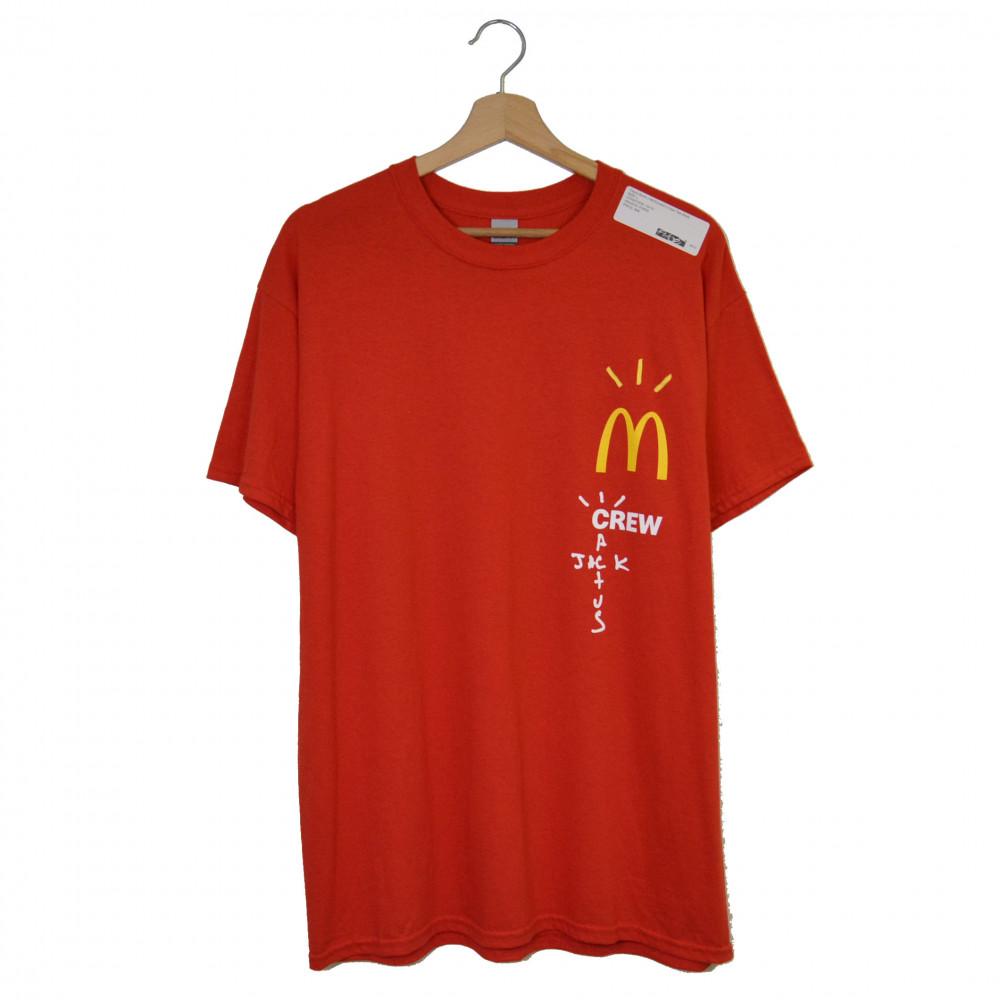 Travis Scott x McDonald's Crew Tee (Red)