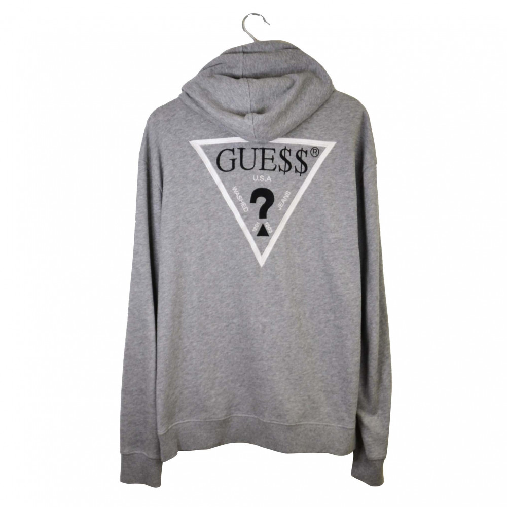 Guess X ASAP Rocky Hoodie (Grey/Red)