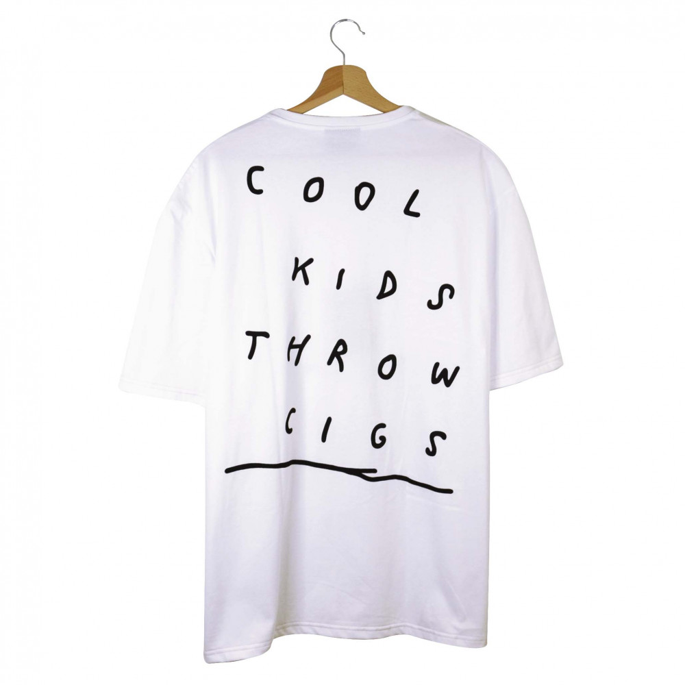 Cigture The Cool Kids Tee (White)