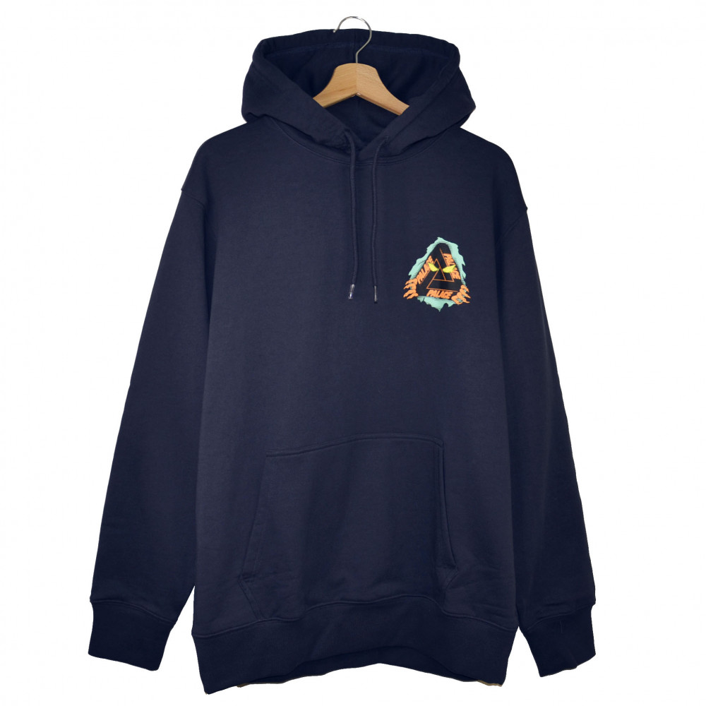Palace Tri-Ripper Hoodie (Navy)