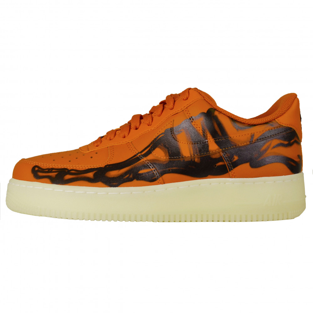 Nike Air Force Skeleton (Orange)