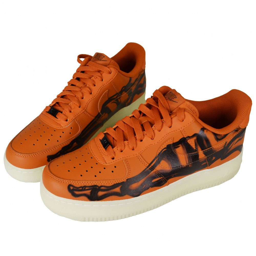 Nike Air Force Skeleton (Orange)
