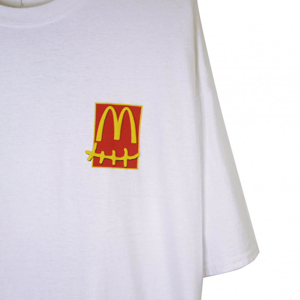 Travis Scott x McDonald Action Figure Series Tee (White)