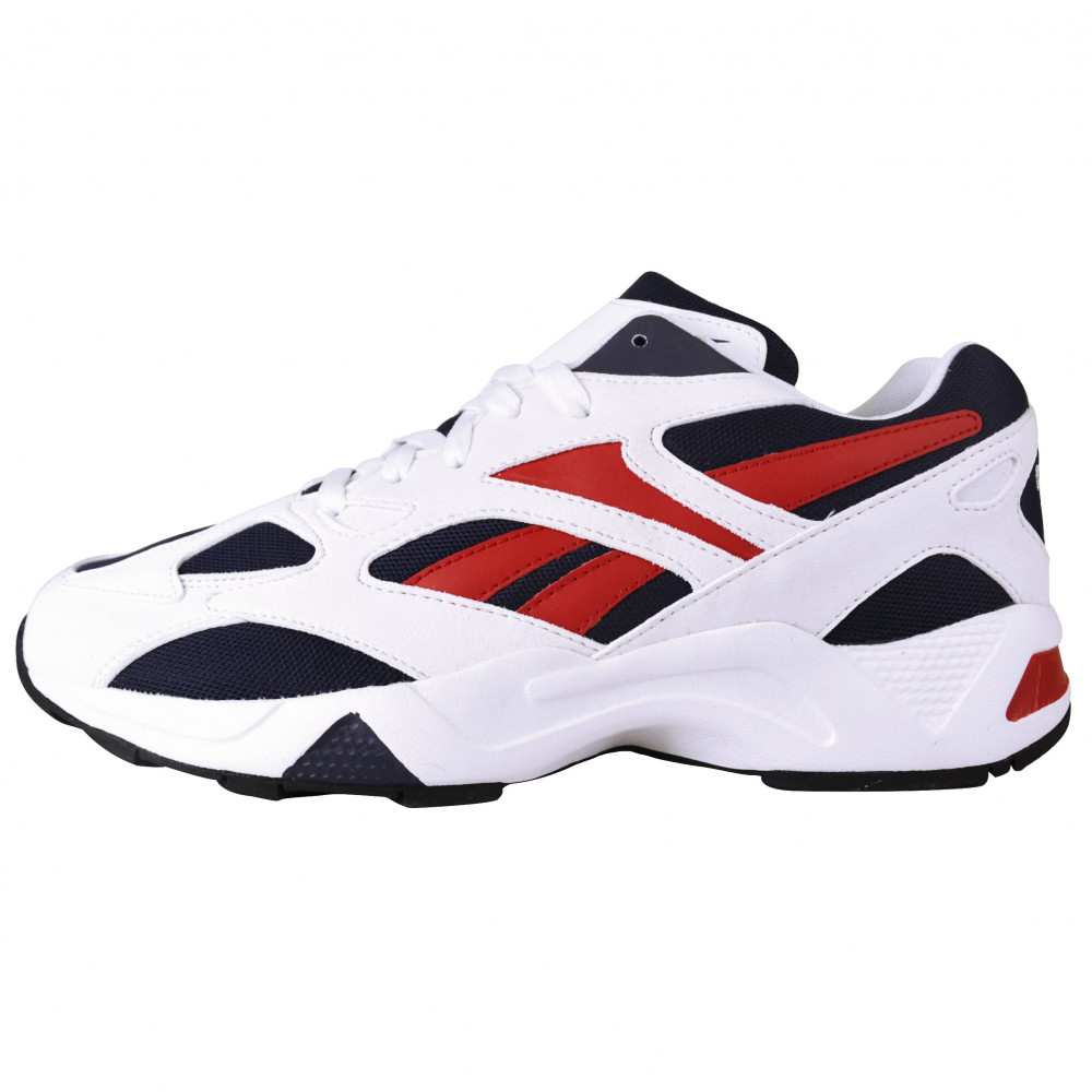 Reebok Aztrek 96 (White/Blue/Red)